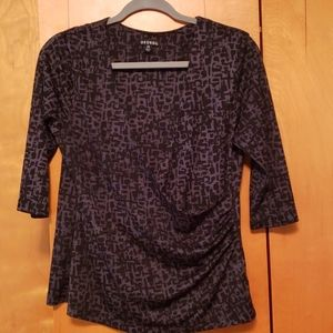 George Women's wrapped top size L (12-14)